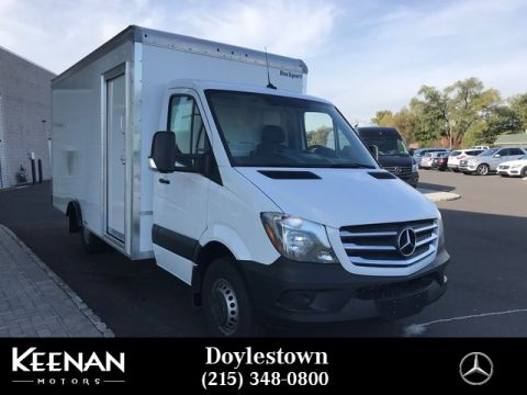 New 2018 Mercedes Benz Sprinter Chis Cab